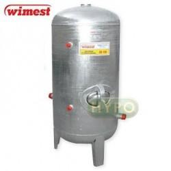 ZBIORNIK OCYNKOWANY hydroforowy pionowy 150L Wimest