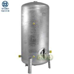 ZBIORNIK OCYNKOWANY hydroforowy pionowy 300L HYDRO-VACUUM HVP301