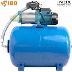 Zestaw MHI1300 SS INOX 230V Hydrofor 80L IBO