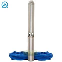 """Pompa Głębinowa 4"""" SAM 3/16 1,1 KW / 230V 20m kabla"""