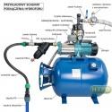Kompletny zestaw MH1300 230V Hydrofor 100L pion-poziom IBO