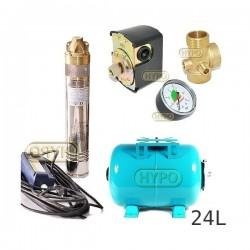 Zestaw pompa SKM200 230V OMNIGENA zbiornik 24L poziomy