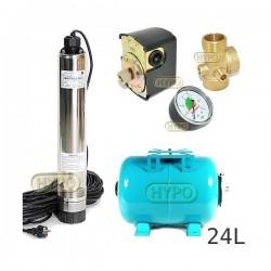 Zestaw pompa OMNITRON5000 230V OMNIGENA zbiornik 24L poziomy