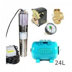 Zestaw pompa NKM-150 230V SUMOTO zbiornik 24L poziomy