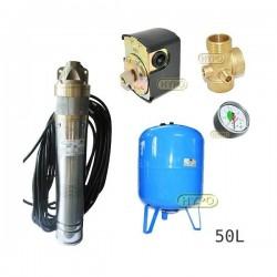Zestaw pompa SKT100 400V OMNIGENA zbiornik AQUA-SYSTEM 50L pionowy