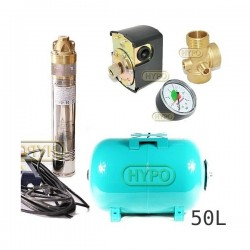 Zbiornik pompa SKM200 230V OMNIGENA zbiornik 50L poziomy
