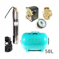 Zestaw pompa SKT200 400V OMNIGENA zbiornik 50L poziomy