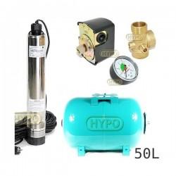 Zestaw pompa OMNITRON5000 230V OMNIGENA zbiornik 50L poziomy