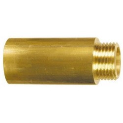 """Przedłużka mosiężna 1/2"""" 25 mm GZxGW"""