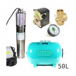 Zestaw pompa NKM-150 230V SUMOTO zbiornik OMNIGENA 50L poziomy
