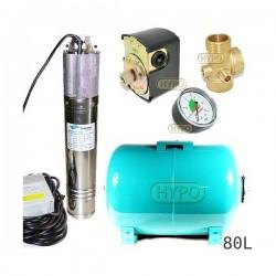 Zestaw pompa NKM-150 230V SUMOTO zbiornik OMNIGENA 80L poziomy