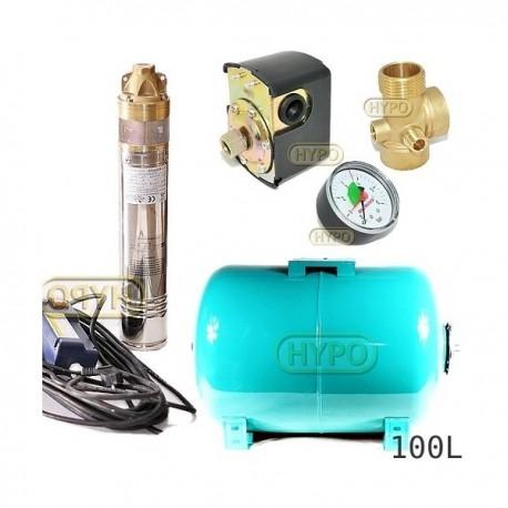 Zestaw pompa SKM200 230V OMNIGENA zbiornik 100L poziomy