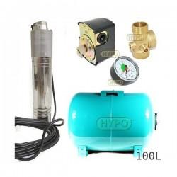 Zestaw pompa NKT-150 400V SUMOTO zbiornik OMNIGENA 100L poziomy