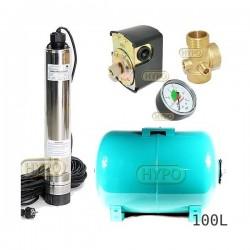 Zestaw pompa OMNITRON5000 230V OMNIGENA zbiornik 100L poziomy