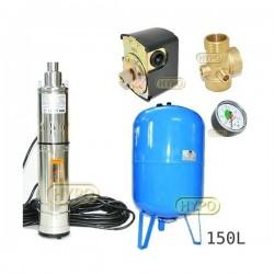 Zestaw pompa 3,5SCR1,8-50-0,5 230V IBO zbiornik 150L pionowy