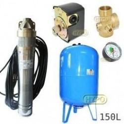 Zestaw pompa SKT100 400V OMNIGENA zbiornik AQUA-SYSTEM 150L pionowy