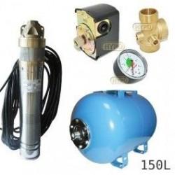 Zestaw pompa SKT100 400V OMNIGENA zbiornik AQUA-SYSTEM 150L poziomy