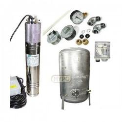 Zestaw pompa NKM-150 230V SUMOTO zbiornik ocynkowany HYDRO-VACUUM 300L pionowy