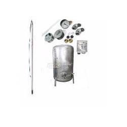 Zestaw pompa SQ3-55 230V zbiornik ocynkowany HYDRO-VACUUM 300L pionowy