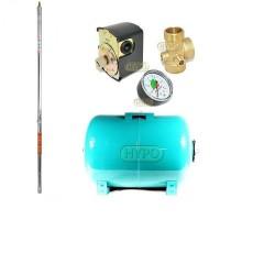 Zestaw pompa 3SDm24 230V IBO Dambat zbiornik 24L poziomy