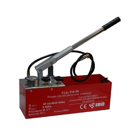 Pompa do prób ciśnieniowych PR50