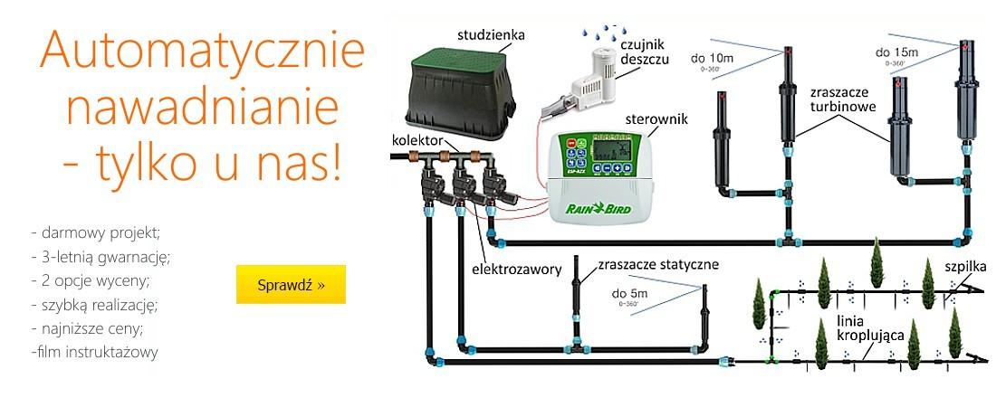 Automatyczne nawadnianie - tylko u nas!